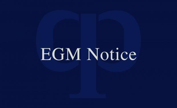 Notice of EGM